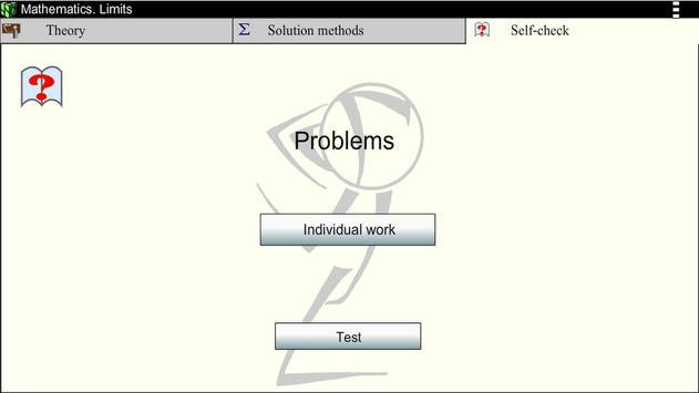 Math. Limits screenshot 3