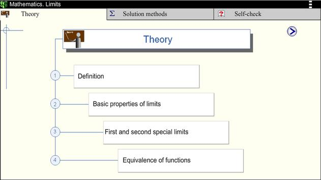 Math. Limits screenshot 15
