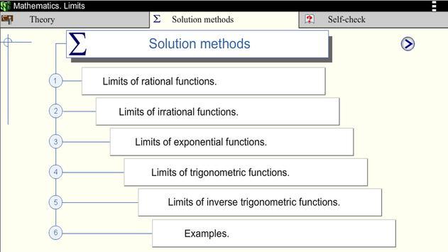 Math. Limits screenshot 16