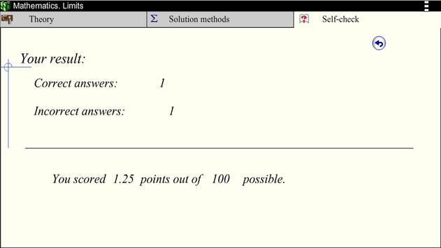 Math. Limits screenshot 20