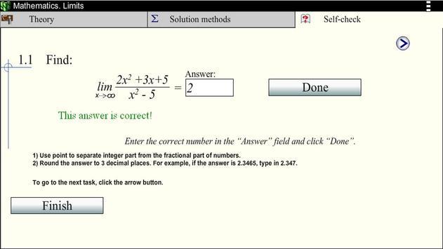Math. Limits screenshot 4