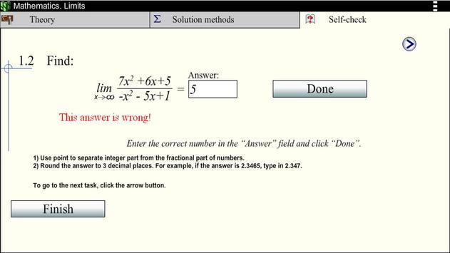 Math. Limits screenshot 5