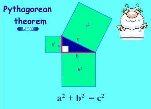Live Geometry Pythagoras poster