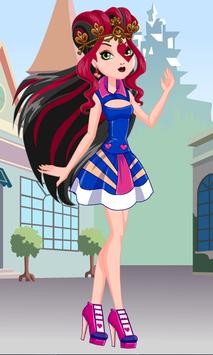 Dress Up Lizzie Hearts poster