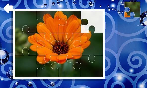 Jigsaw puzzles. Flowers screenshot 1