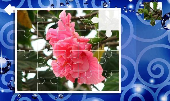 Jigsaw puzzles. Flowers screenshot 5