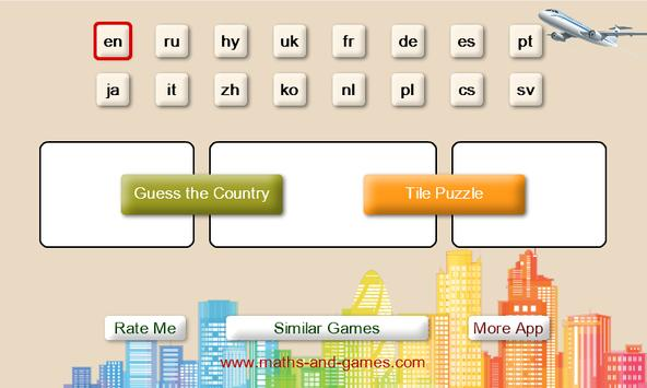 Guess the Country. Tile Puzzle screenshot 6