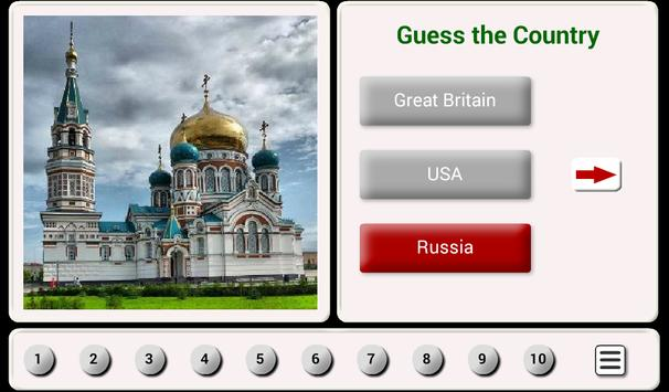 Guess the Country. Tile Puzzle screenshot 8