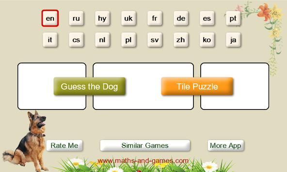Puzzles and Guess the Breed of Dogs screenshot 6