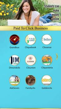 Paid To Click Business poster