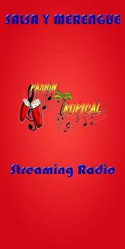 Pasion Tropical Radio poster