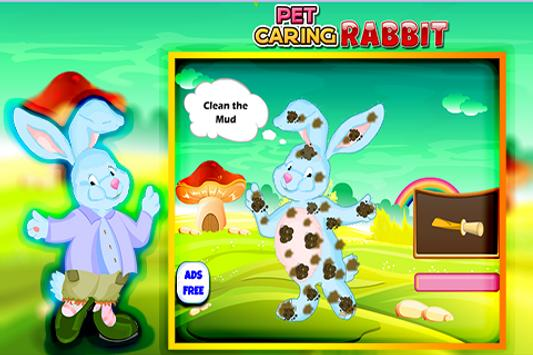 Pet Caring Rabbit apk screenshot