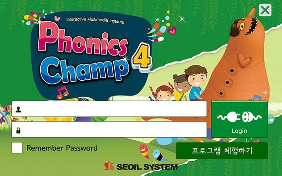 Phonics Champ 4 파닉스챔프4 서일영어 poster