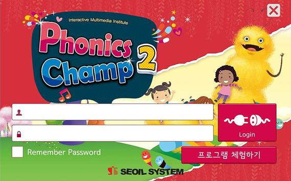 Phonics Champ 2 파닉스챔프2 서일영어 poster