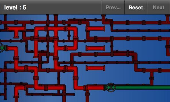 Pipe Puzzle FREE apk screenshot