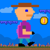 Jumpy man - endless runner icon