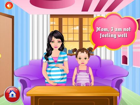 Pregnant Mommy Baby Care Games poster