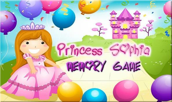 Princess Sophia Memory Game poster