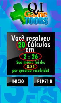 Qi Game Toobs  Jogo Matemático apk screenshot