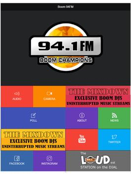 BOOM 94FM screenshot 1