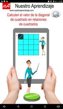 Calculan  la diagonal de cuadrado de 1 cm lado screenshot 10
