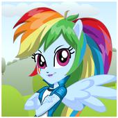 Dress Up Rainbow Dash icon