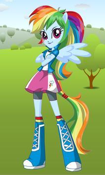 Dress Up Rainbow Dash apk screenshot