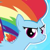 My Rainbow Dash Dress Up icon