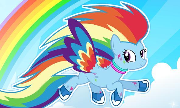 My Rainbow Dash Dress Up poster