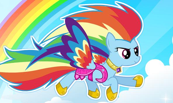 My Rainbow Dash Dress Up apk screenshot