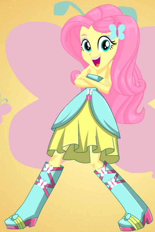 Pony Cool Girls with Fluttershy Rarity Rainbow APK ...