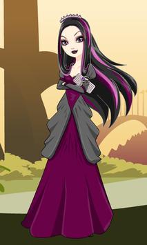 Dress Up Raven Queen 2 poster
