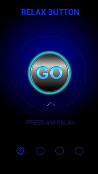 Relax Button poster