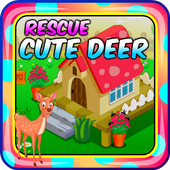 Top Escape Games - Rescue Cute Deer Game icon