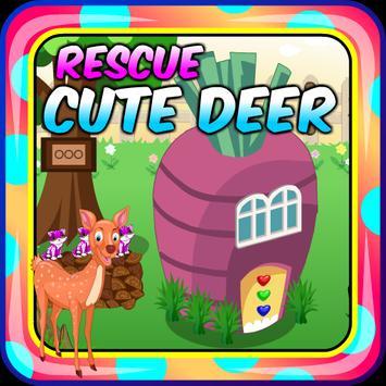 Top Escape Games - Rescue Cute Deer Game screenshot 2