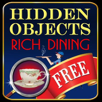 Hidden Objects - Rich Dining poster