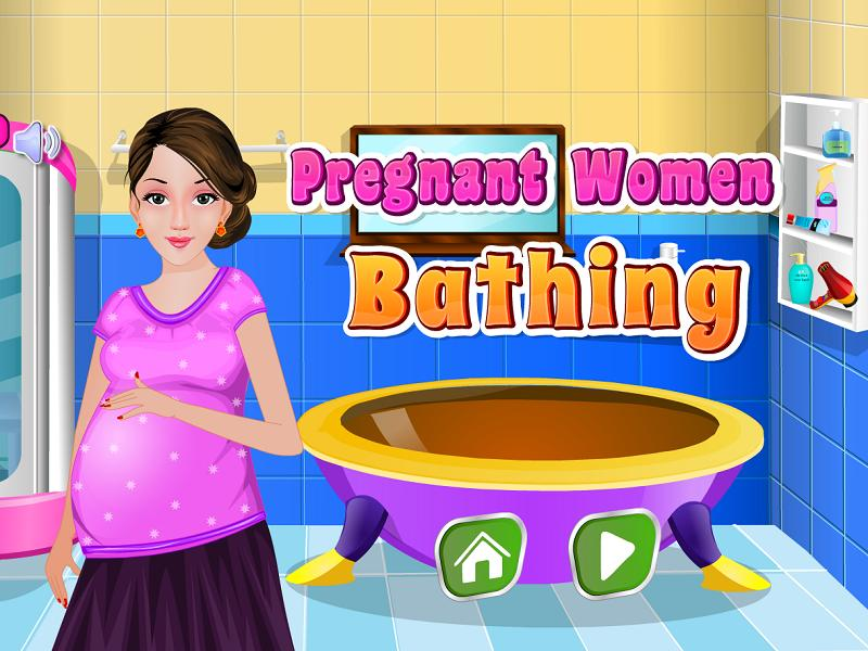 Pregnant Bathing - Girls Games For Android - Apk Download-2295