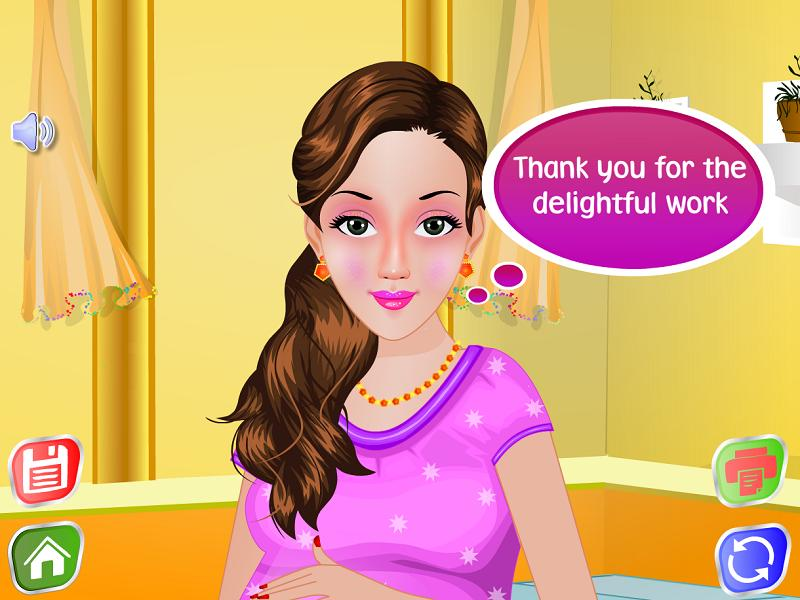 Pregnant Bathing - Girls Games For Android - Apk Download-5869