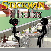 Stickman Kill Adulter icon