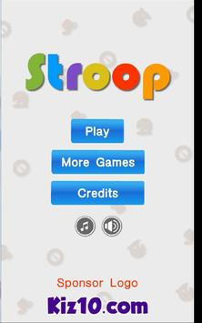 Stroop By Kiz10 screenshot 4
