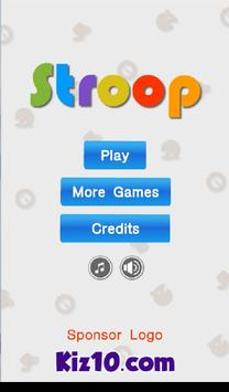 Stroop By Kiz10 screenshot 7