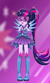 New Twilight Sparkle Dress Up poster
