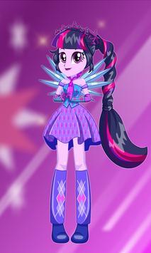 New Twilight Sparkle Dress Up screenshot 1