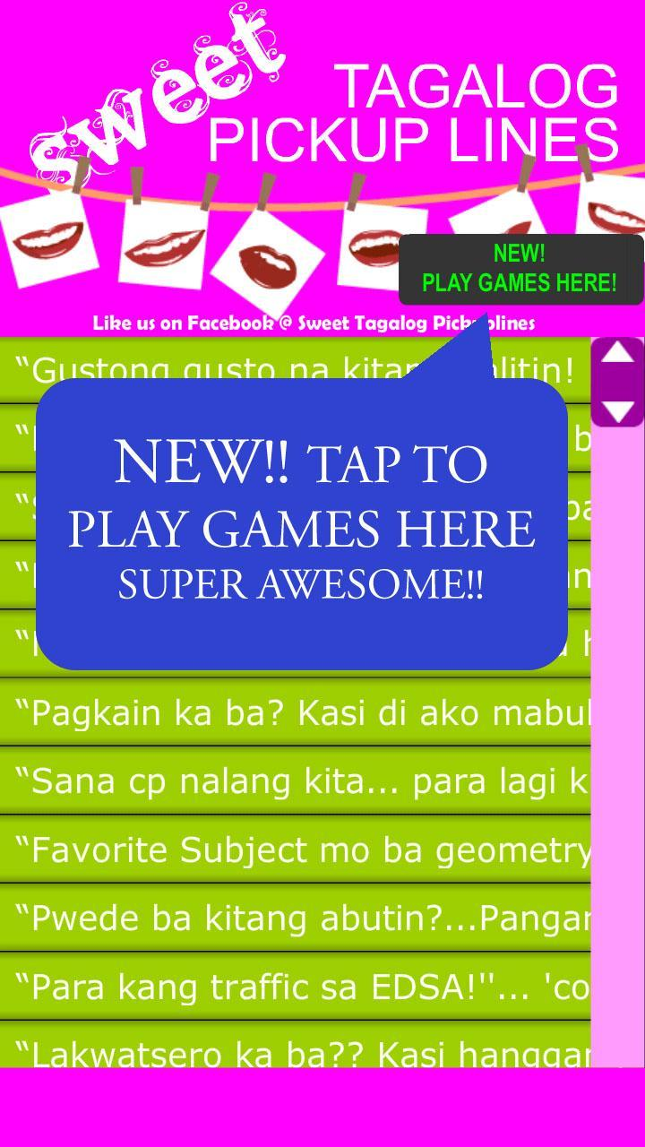 2013 lines pick tagalog sweet up Pick Up