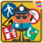 Safety Signs for Kids icon