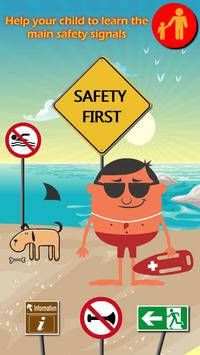 Safety Signs for Kids poster