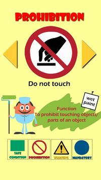Safety Signs for Kids screenshot 2