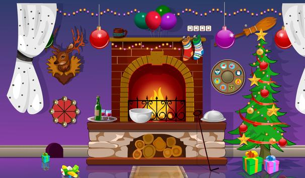 Santa Gift Bag Escape apk screenshot
