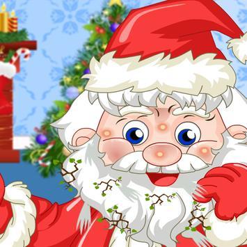 Santa Claus Games: Facial Spa poster