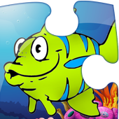 Kids Sea Life Puzzle icon